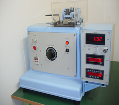 Repeated bending fatigue testing machine